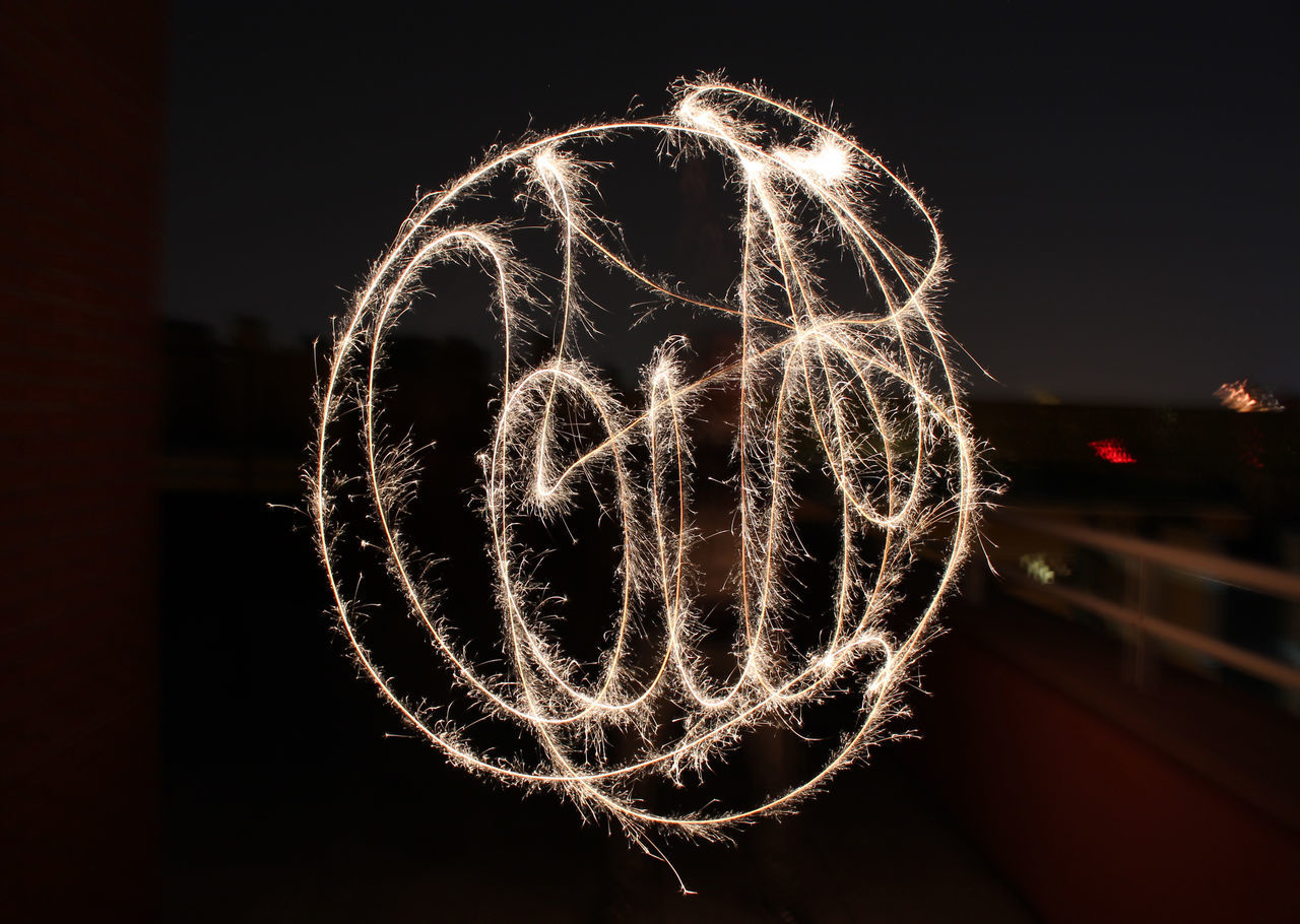 Catch the moment Black Celebration Circle Elementary Age Expression Feel Fire Firework - Man Made Object Firework Display Friends Illuminated ISO Light LINE Moment Motion Night Nightphotography No People Outdoors Party Shadow Tag Time Year