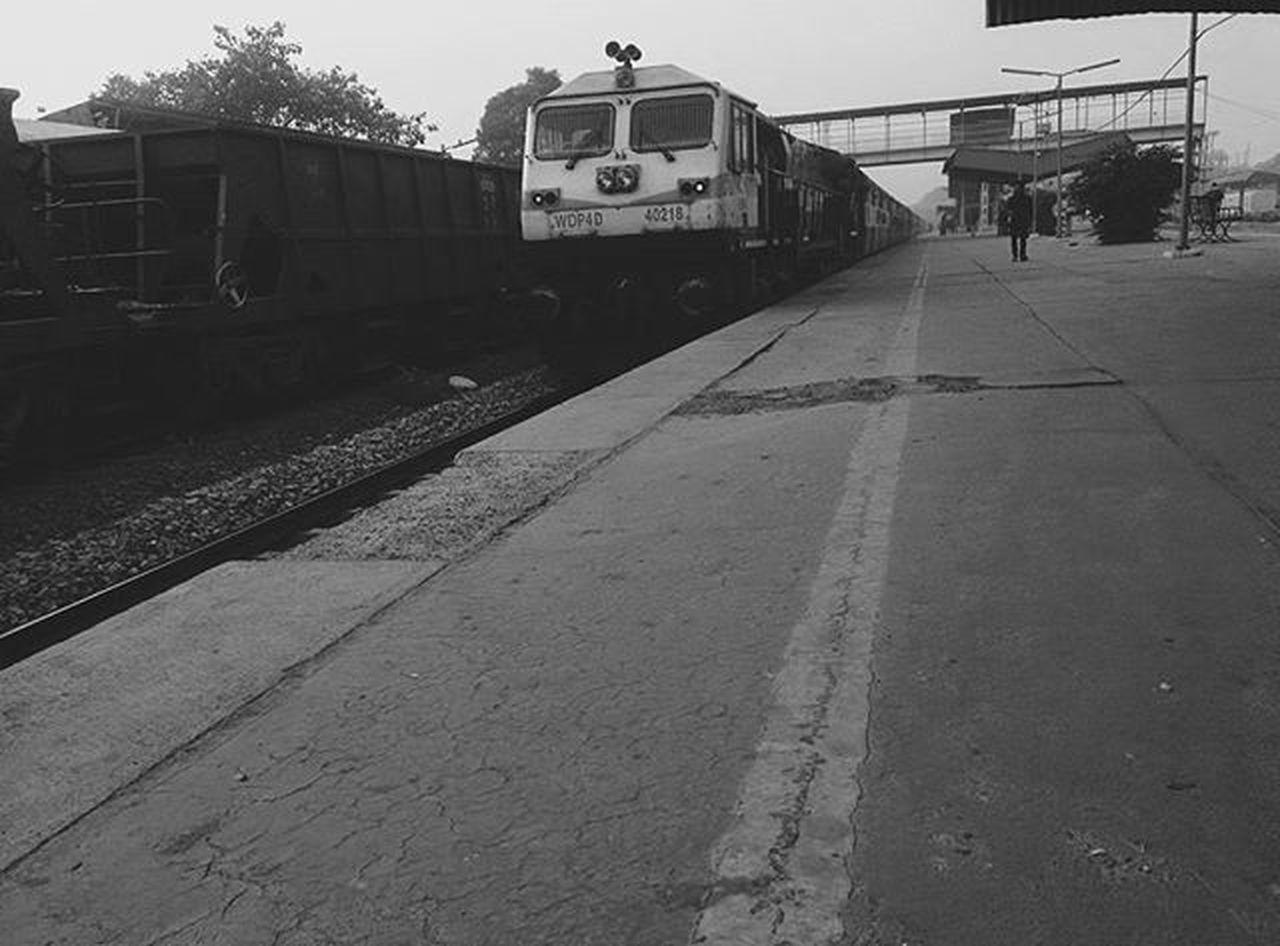 Train© Blackandwhite Earlymorningpic Transportation Indiaclicks Indianrailways