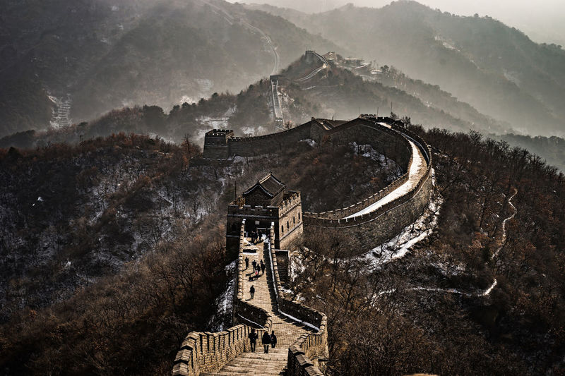 La muraille de Chine Travel Photography Wall Of China China Lifestyles Pekin Reportage Shangaï Travel Destinations