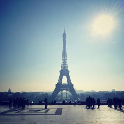 Tour Eiffel at Palais de Chaillot by Cecile_and_co