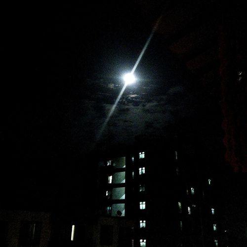 FullMoonLight Fullmoonday Twilight Xoloblack Xoloclick Mrunmayidhurandhar Moon Night Poornima February 2016 February India Maharashtra Mumbai Bhayander First Eyeem Photo