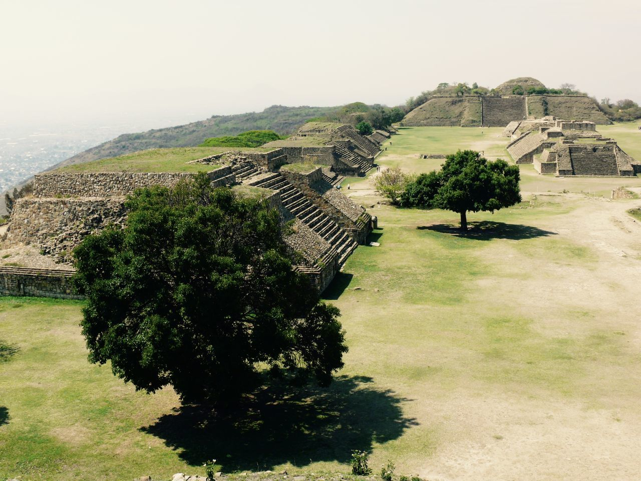 Monte Alban, just outside the city of Oaxaca. A truly awe-inspiring place where the voices of the ancient Zapotec people whisper to us through the centuries. Ancient Civilization Archeological Complex Building Exterior Built Structure Day Grass Landscape Mesoamerica Monte Alban No People Oaxaca México  Scenics Top Of The World Zapoteca