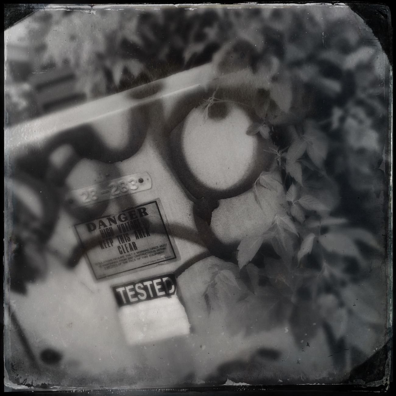 Danger graffiti. Project 365 Photography Iphone 5 Hipstamatic Tintype