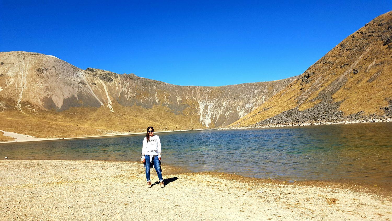Vista Desde El Nevado De Toluca laguna del sol