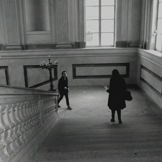 Eyem Stairways in Milan Blak And White