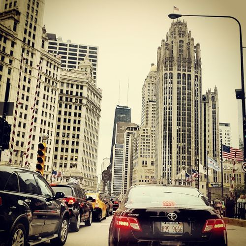 Early evening in Chicago Urban Landscape Chicago First Eyeem Photo