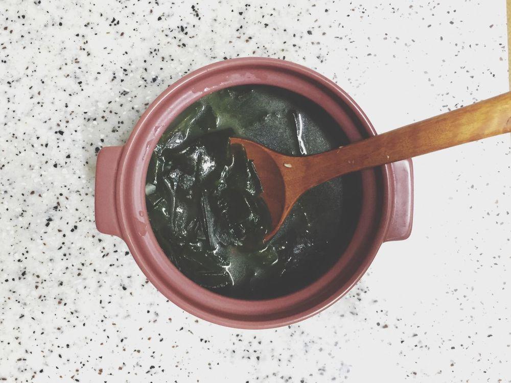 Korean Food Soup Sea Mustard Soup Moms Birthday HappyBirthday For You