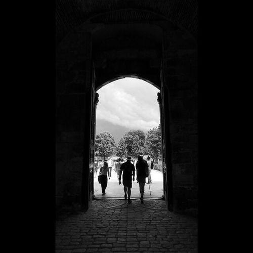 Topkapi Palace Istanbul Gate Blackandwhite