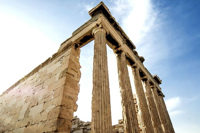 Greece Parthenon Acropolis Greece Acropolis, Athens Athens Hanging Out Tranquility Traveling Travel Architecture_collection Architectural Detail Colonial Architecture Colonnade Colors Blue Sky Silent Moment Nikond90 Beautiful View Enjoying Life Travel Photography Photographic Memory Photos Around You Monument Monumental Buildings Monuments Of The World Worldbestgram