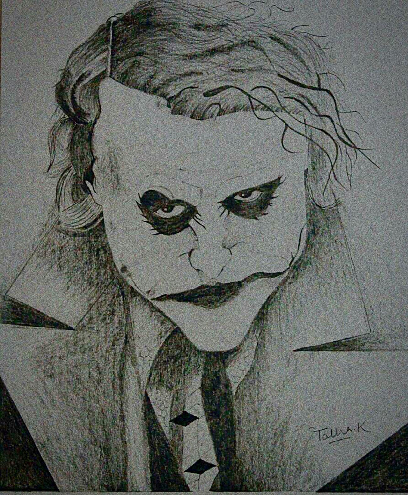 Joker Jokerface Jokersmile Joker ❤️  Jokerdrawing