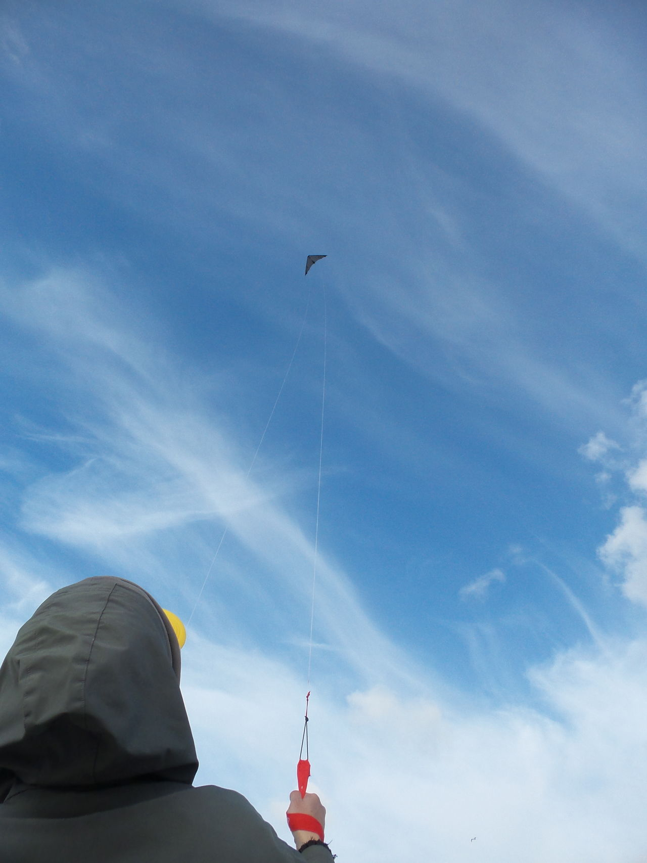 Sky Flying A Kite Chill Out