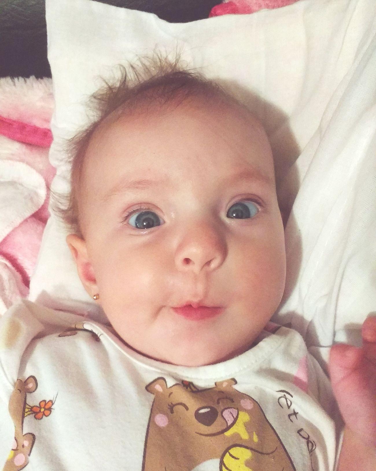 Minha irmã é a bebe mais linda ❤ Baby Baby Clothing Cute Popular Photo Sao Paulo - Brazil First Eyeem Photo Baby ❤ Babygirl ♥ Babycat Babylove Baby Beautiful Girl Love