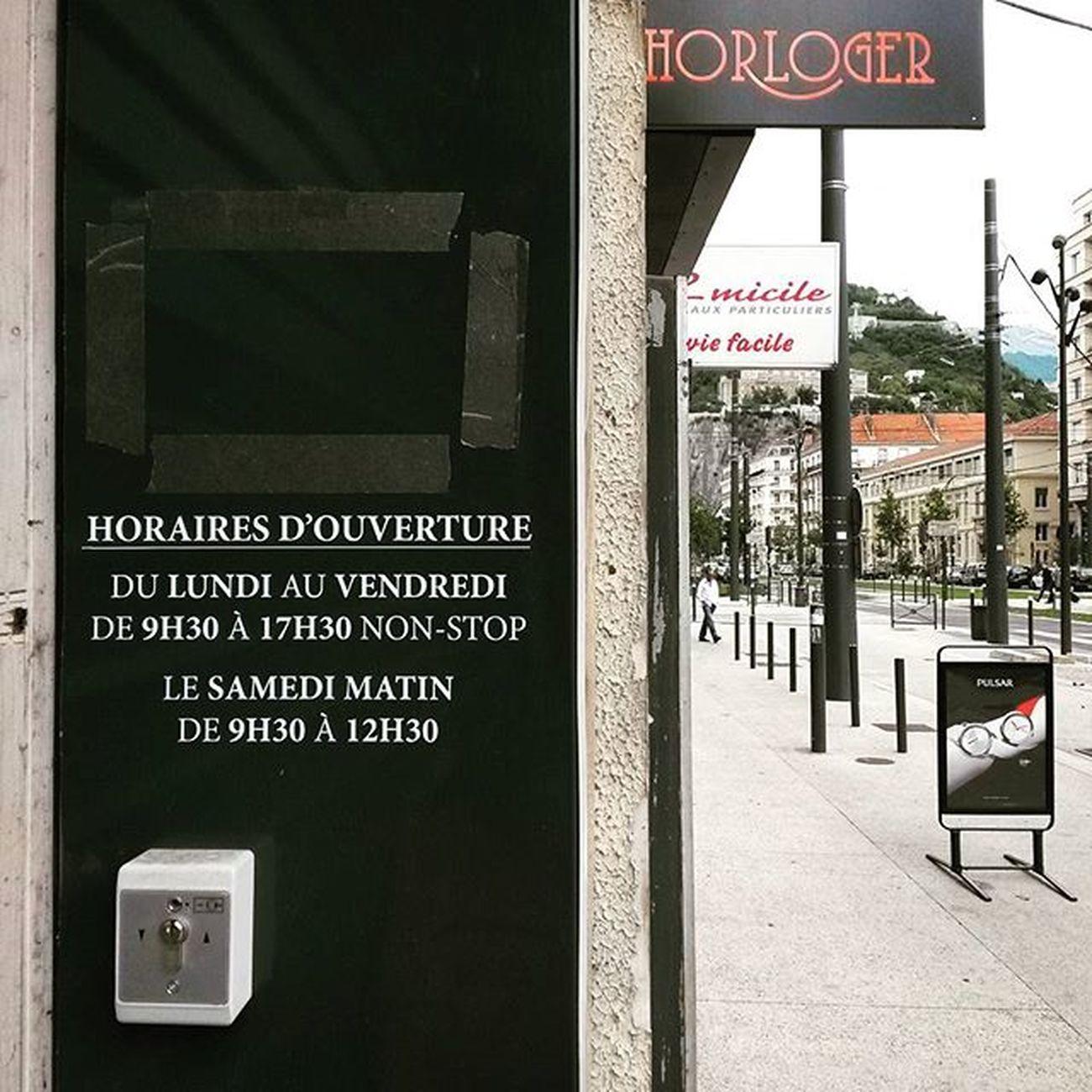 Horaires de l'Horloger , Grenoble , 2015  WHPrhythm