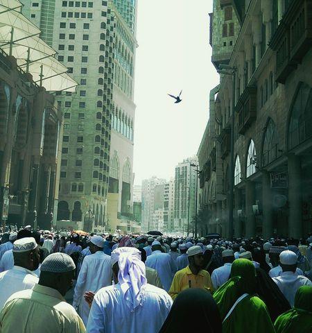 مكة المكرمة زحمة People Crowded