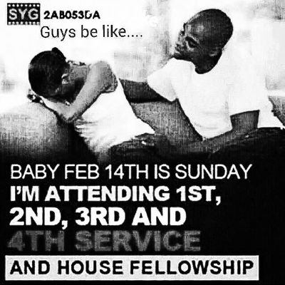The best thing to do on Feb 14 ....Lol Sensible Badoo
