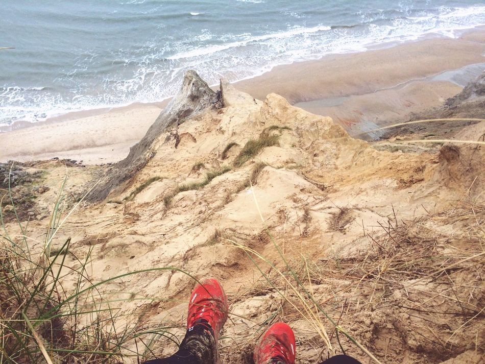 OnTop of Rubjerg Knude both Satisfied  and Enlightened Authentic Enjoyment Achievement Completed
