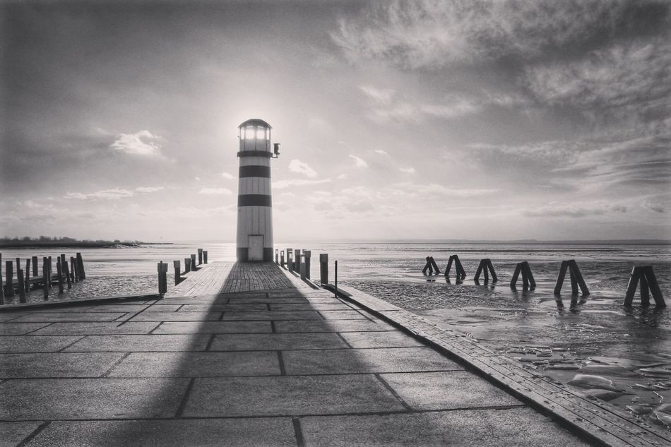 hello eyeem 🙋 Sound Of Silence What Does Peace Look Like To You? Lighthouse Connected With Nature Blackandwhite Eye4photography