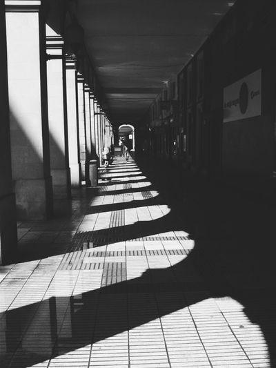 Stree Photography Urban Black & White Gijón Light And Shadow