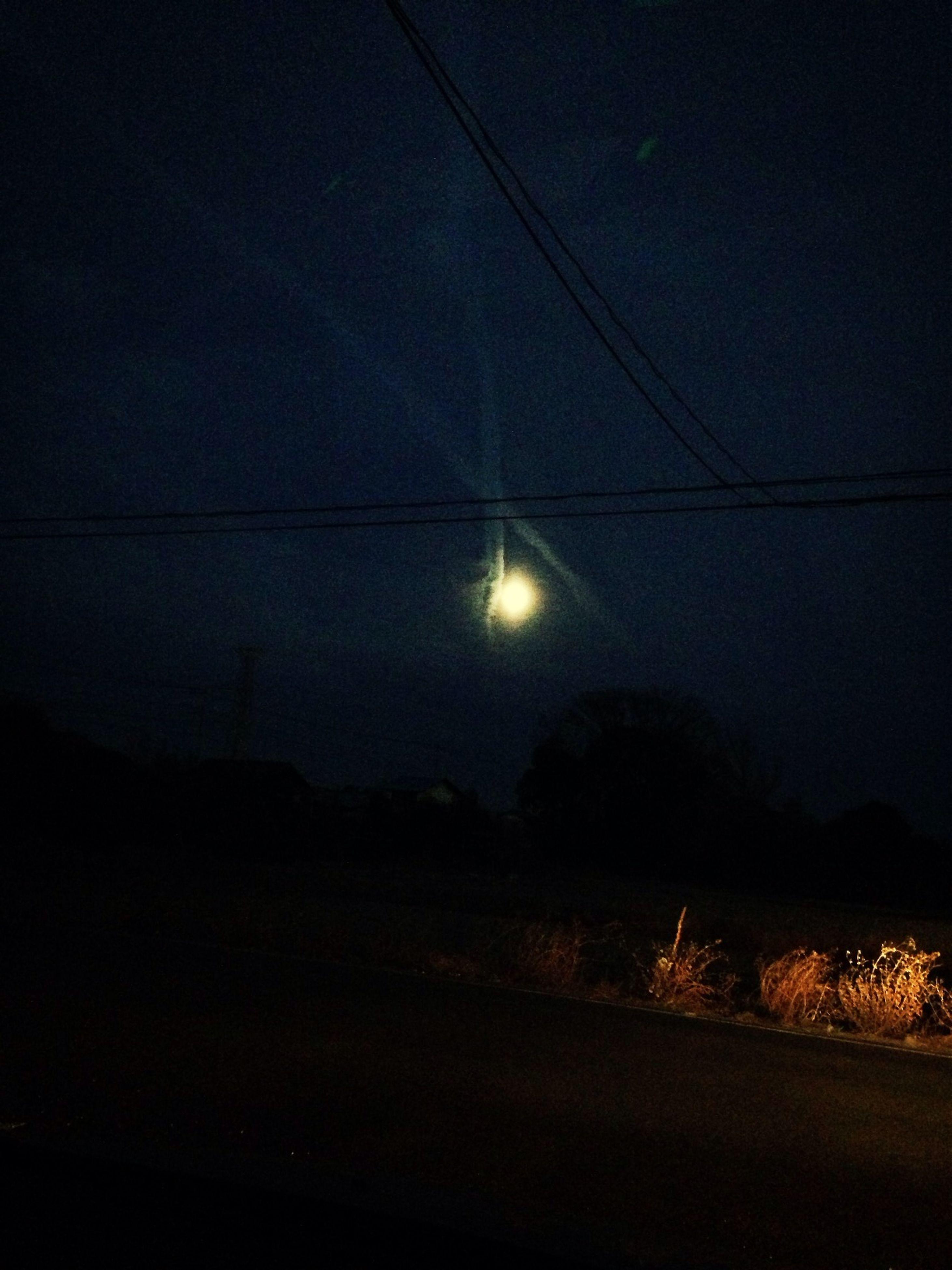 night, illuminated, silhouette, dark, light - natural phenomenon, lighting equipment, low angle view, street light, electricity, dusk, sky, moon, indoors, tree, copy space, light, mystery, nature, no people