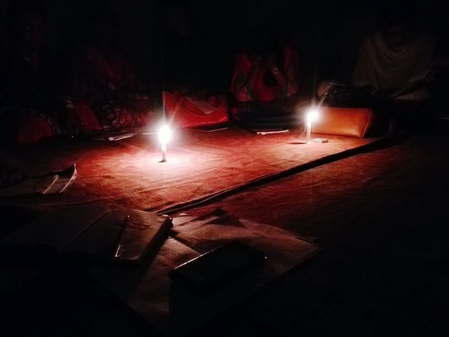 Candlelight reharsal,soulful recitals....... Noelectricity Intense Soulful Candle Light