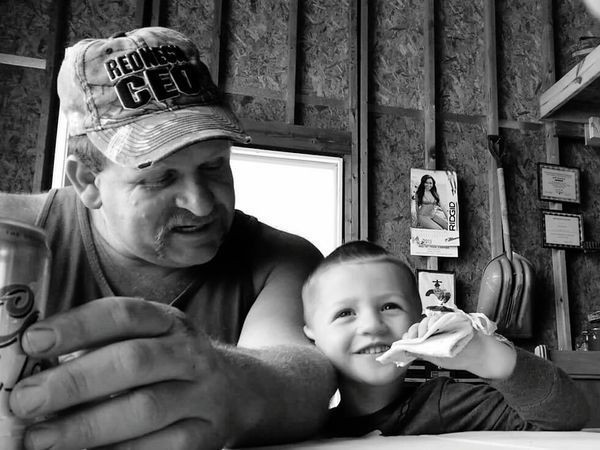 Relaxing Grandsonlove Black And White Smile Love Together All That Matters Bond Happy In The Moment The Portraitist - 2016 EyeEm Awards 43 Golden Moments
