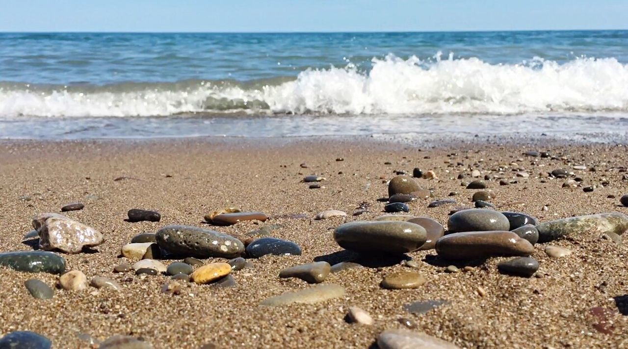 beach, sand, sea, shore, wave, nature, day, no people, outdoors, water, sunlight, beauty in nature, horizon over water, sky, close-up