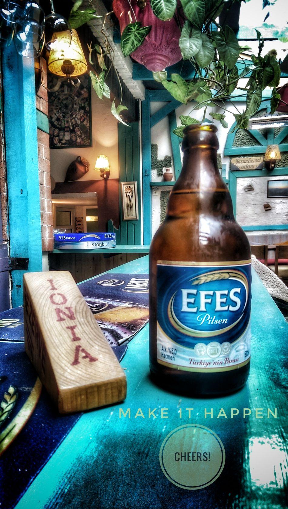 No People Freshness Nature Day Drink Close-up Canyücelsokak Alsancak Food And Drink Alcohol Izmir Instagram FRK's Lounge Beer Indoors  Efes Pilsen🍺