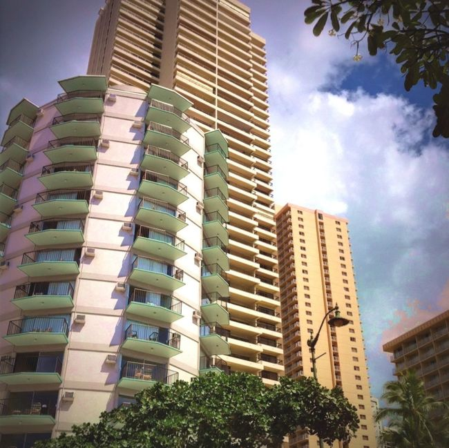 Honolulu, Hawaii IPhoneography Waikiki Architecture