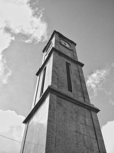 Cityscapes Clocktower at Sao Benedito - CE - Brazil shot with a Moto X2