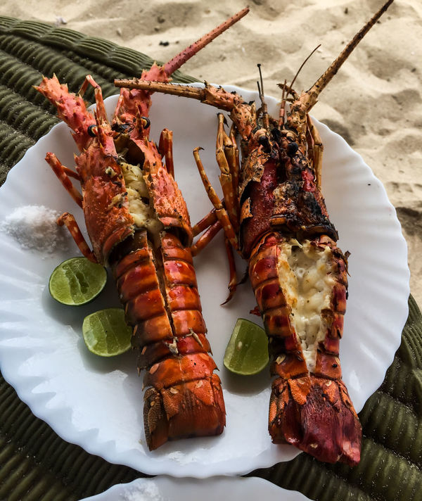 One day in Paradise, Mbudya Island (Tanzania) Africa Beach Close Up Close-up Dar Es Salaam Food Food And Drink Freshness Healthy Eating Island Lobster Mbudya Mbudyaisland No People Outdoors Paradise Photography Seafood Tanzania Travel Photography Traveling