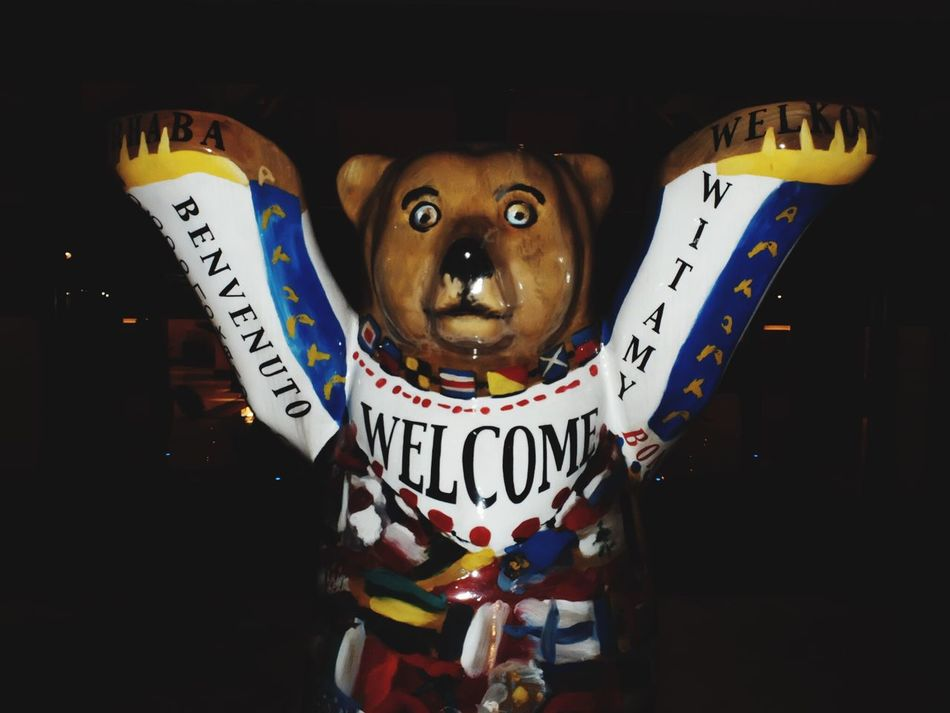 Berlin Bear Welcome