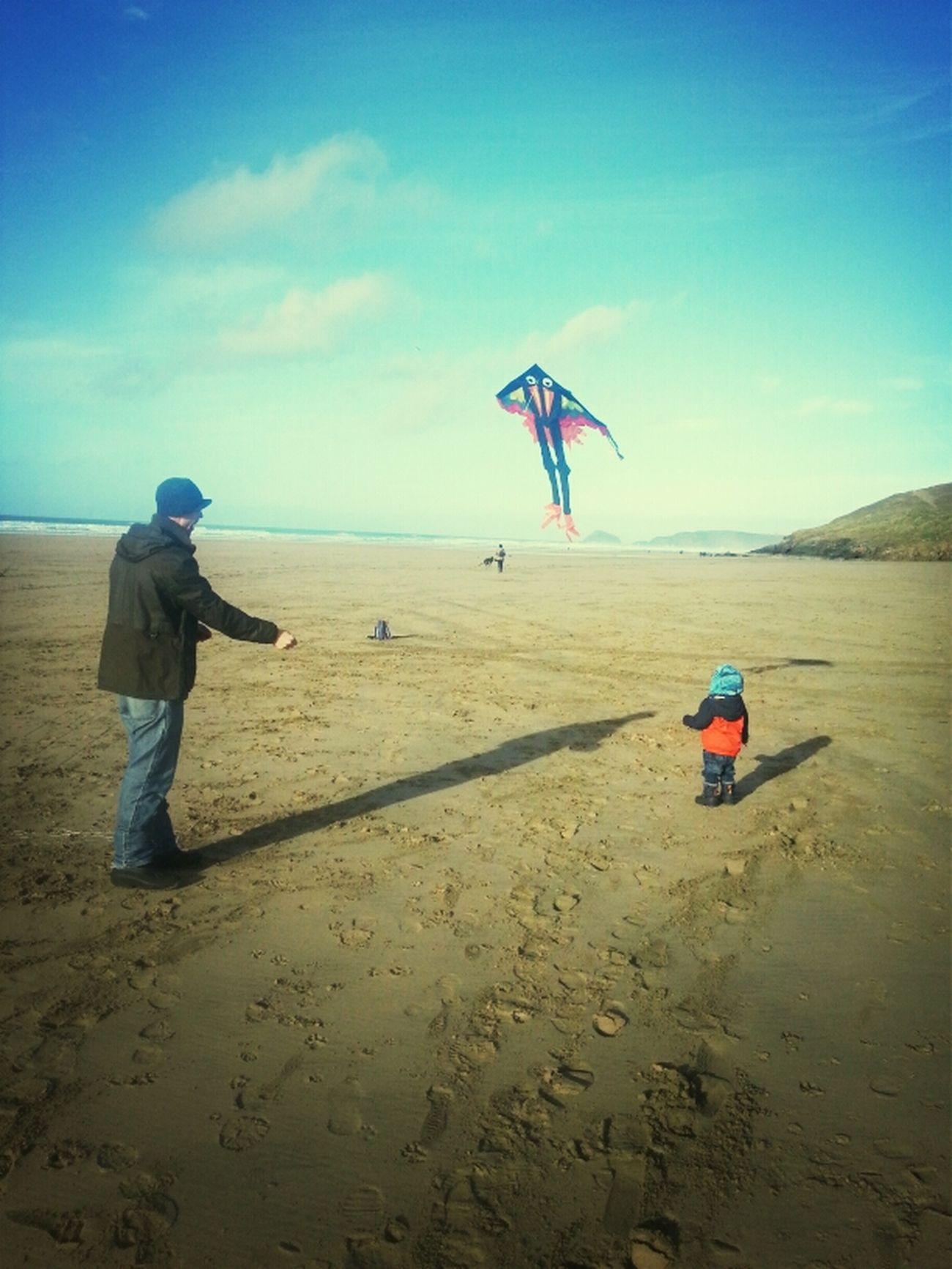 Flying A Kite Baxter