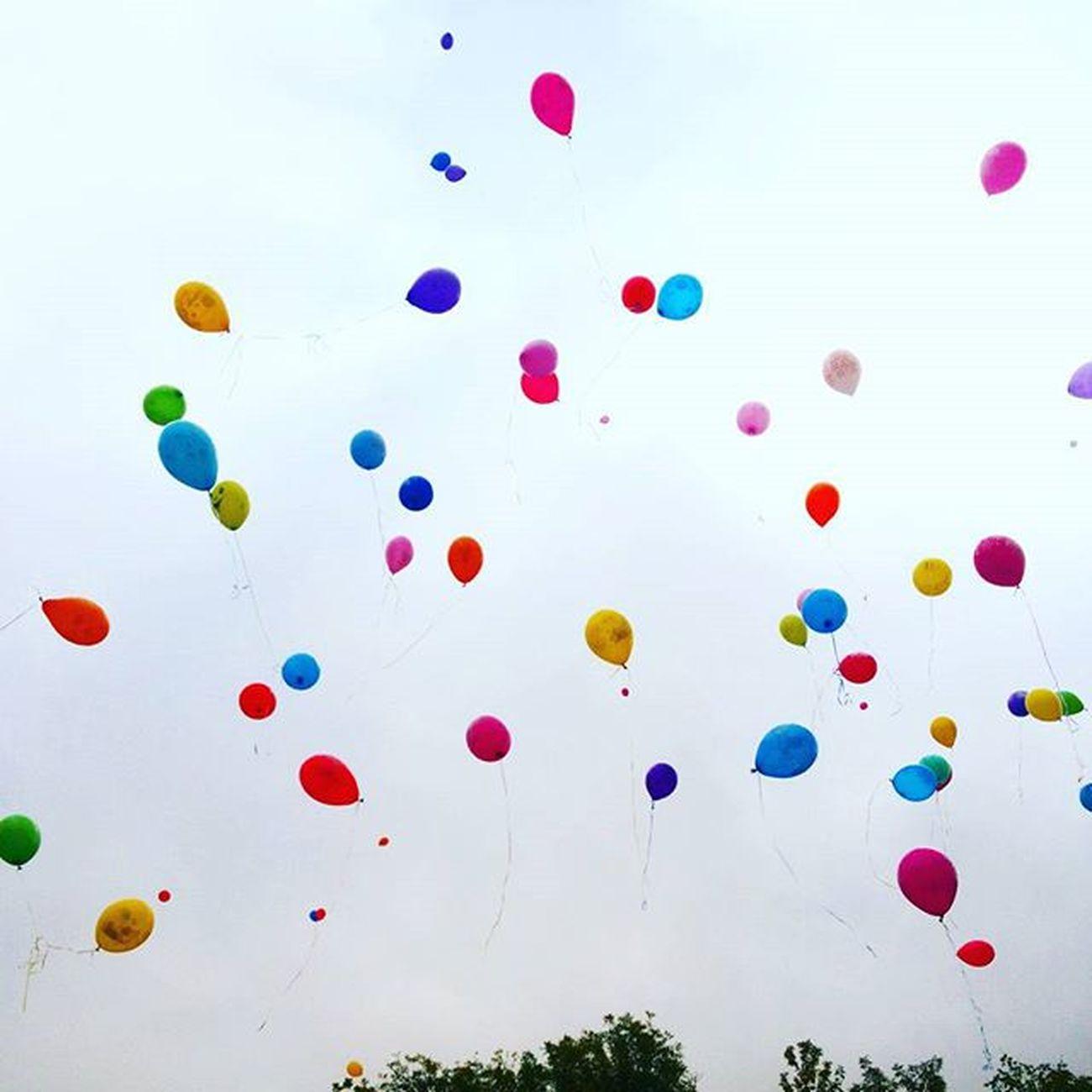 шарики полетели 1сентября линейка Школа