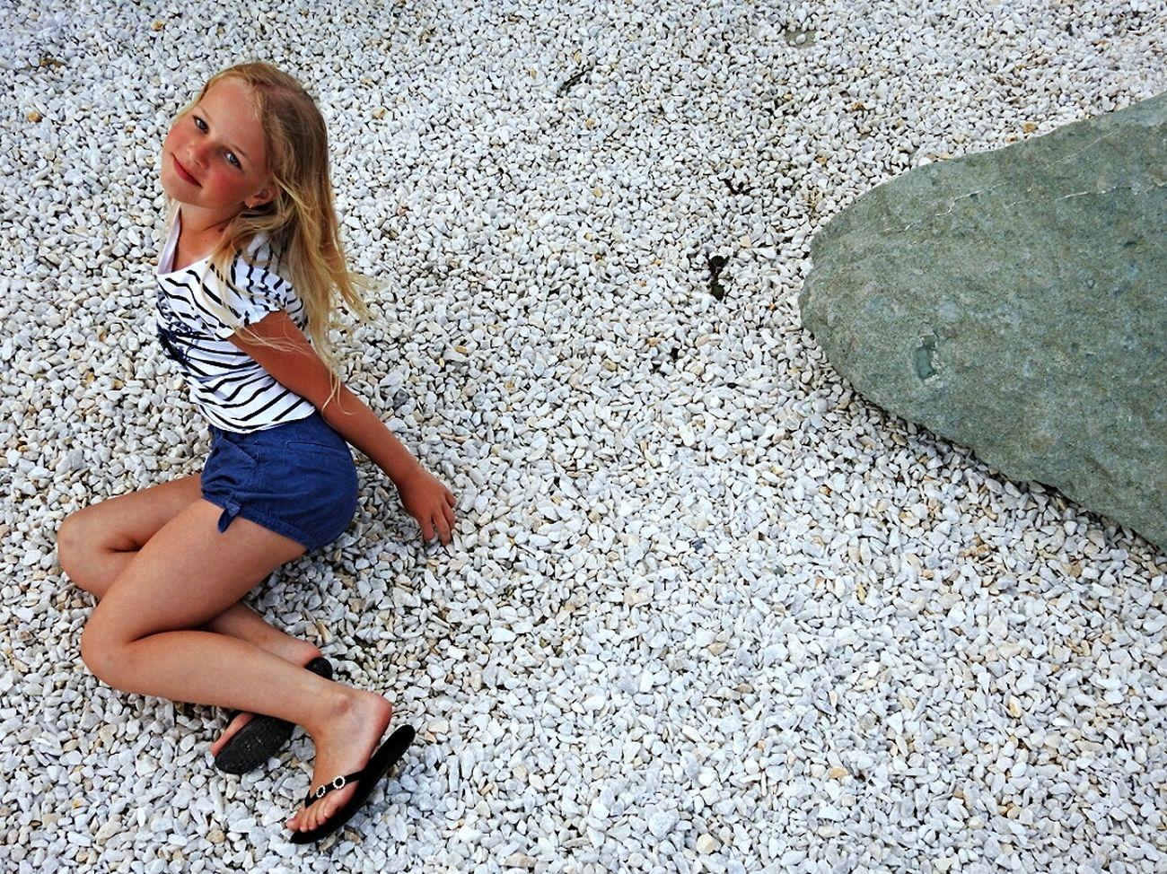 Enjoying Life Adler Holiday Angelina Daughter Angel Stone Embankment Russia