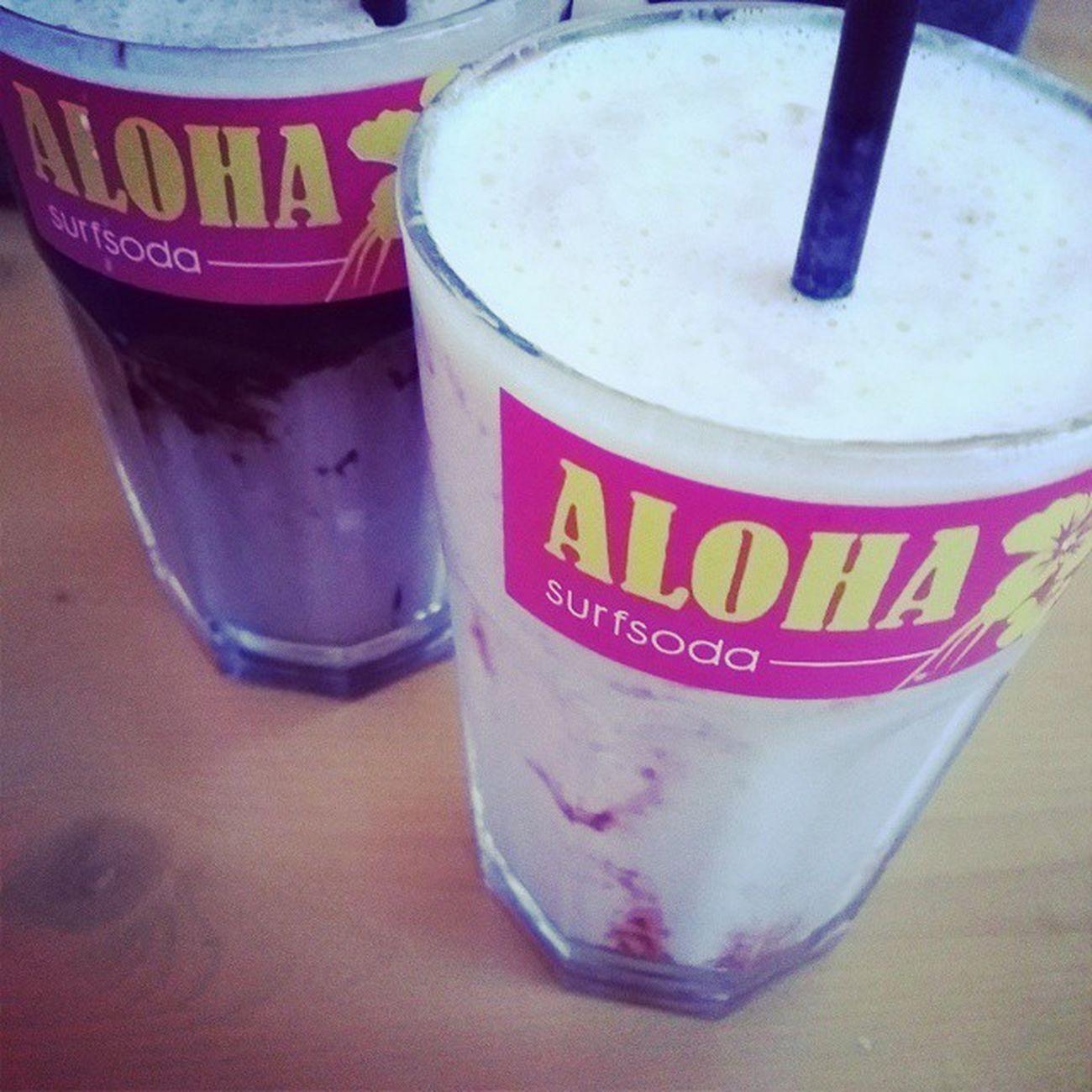 Milkshake im Waikikiburger Potsdam Aloha