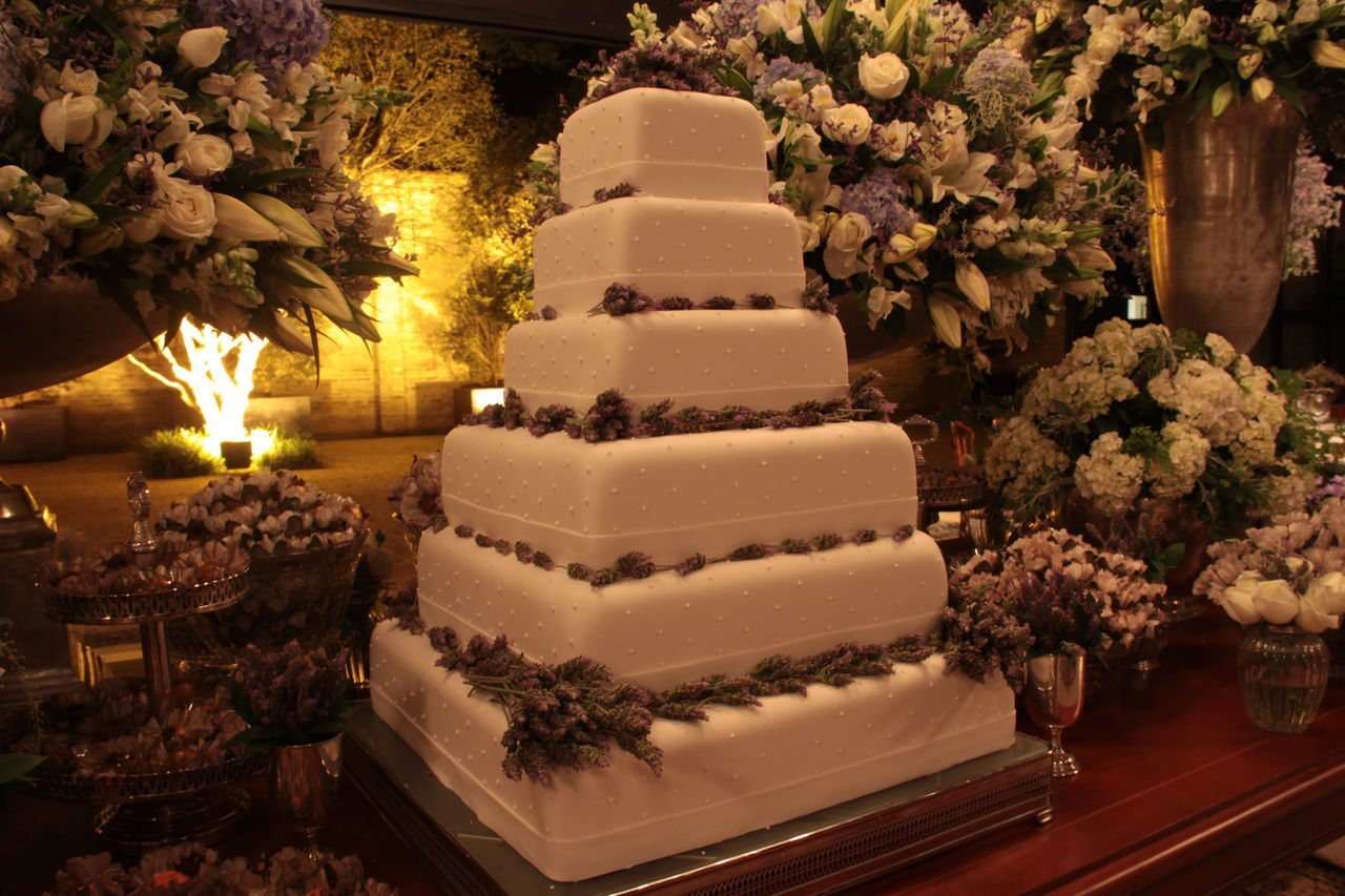Cake Celebration Close-up Day Dessert Flower Food Food And Drink Freshness Indoors  Indulgence No People Plate Ready-to-eat Sweet Food Table Temptation Tree Unhealthy Eating Wedding Cake