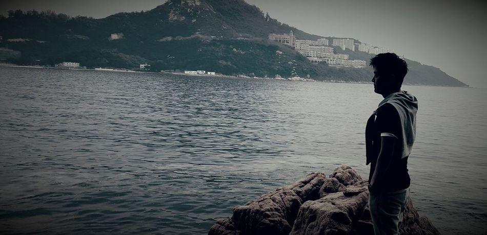 #boy #hongkong #Island #Nature  #sea #summer #sunset #sun #clouds #skylovers #sky #nature #beautifulinnature #naturalbeauty #photography #landscape #wave