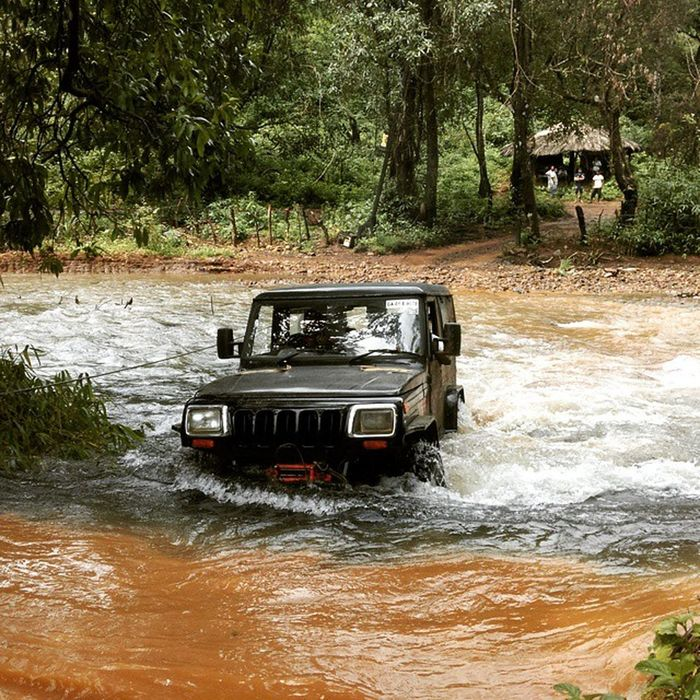 Rfc1 Rfc Rainforest Rainforestchallenge India Crossing Fear Winning River Jungle Goa Summer Rainey Mahindra Force Forcegurkha 4x4 Offroad Trophy Dirt Adventures Rainforestchallengeindia