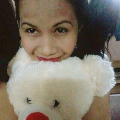 I love my teddy bear... Enjoying Life
