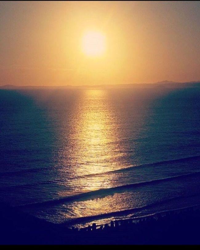 Sunset at Druidstone Sunset Sea Waves Seaview Visitwales Pembrokeshire Pembrokeshire Coast Summer Evening