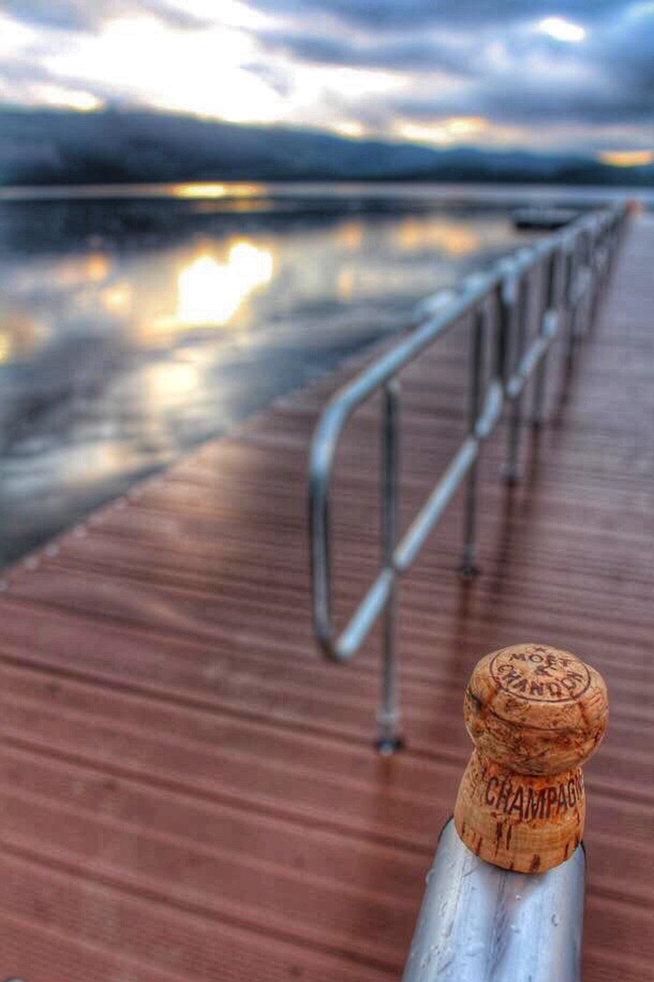 Lieblingsteil Water Railing Nature Outdoors No People Close-up Sky Beauty In Nature Scotland Champagne Moet & Chandon Moet Moetmoment Moëtchandon Celebration Morning After The Night Before Morning After Sunrise Sunrise_sunsets_aroundworld