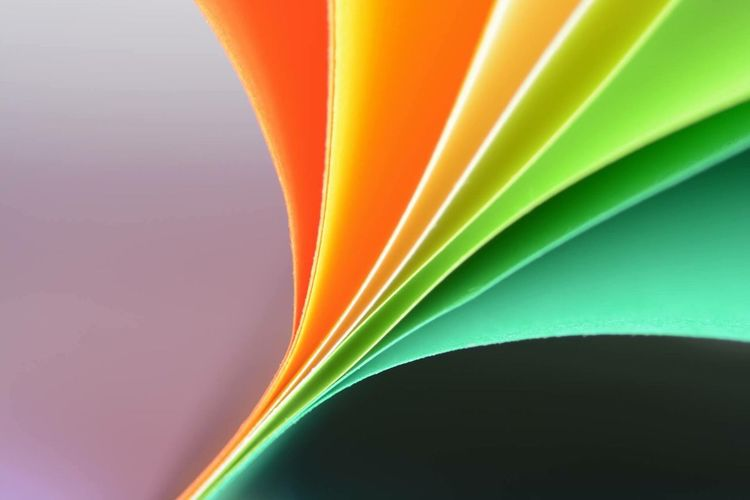Abstract Multi Colored Backgrounds Pattern Paper Textured  No People Inspiration Close-up Full Frame Curve Studio Shot Indoors  Day