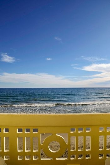 balcony sea view Balcony Seaside Balcony View Balcony With A View Seascape Blue Sky And Sea On The Balcony Beach View From The Balcony Idyllic Scenic Beauty In Nature Beautiful View Travel Travel Destinations Escape Dreamy Reality