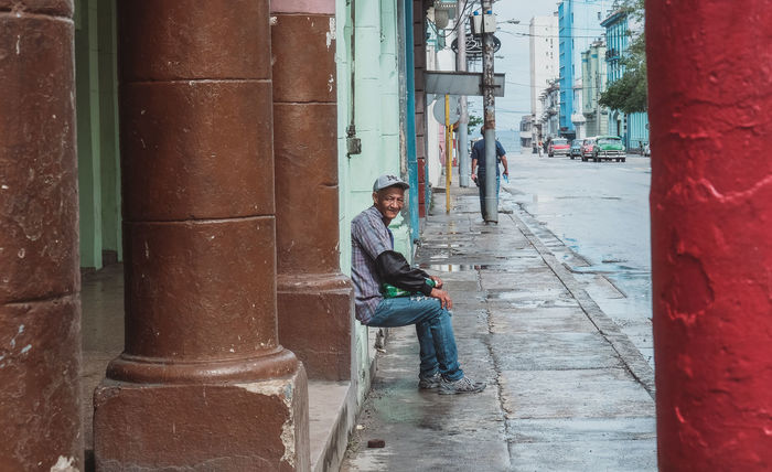 Cuba collections One Person Cuban Nice People  Streetphotography From My Eyes Looking At Me Cuba Collection Cuba City Havana