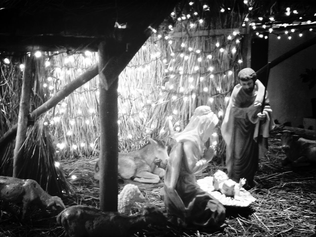 the nativity EyeEmbestshots Eye4photography  Religious Views Bw_collection
