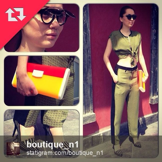 Urania Gazelli SS13 find now at @boutique_n1 and @boutique_sauvage in Almaty, Kazakhastan Almaty Villadeifiori Fashion Boutique1 sauvage uraniagazelli clutch ss13 collection design madeingreece kazakhastan moscow