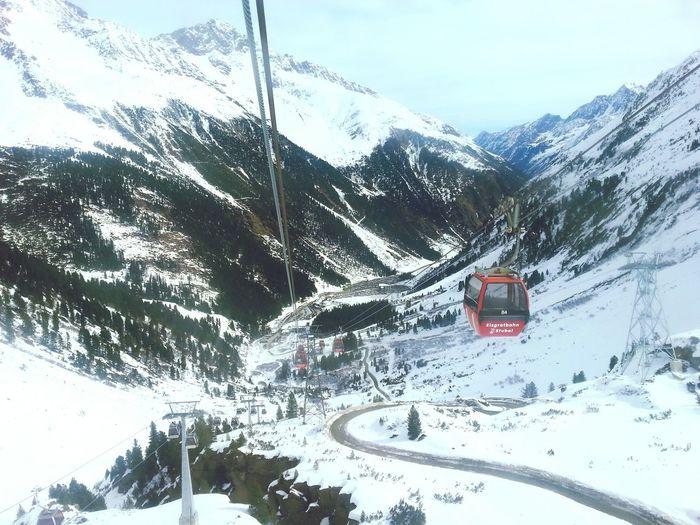 Nieve First Eyeem Photo Snow Mountain Österreich Austrian Alps Feel The Journey