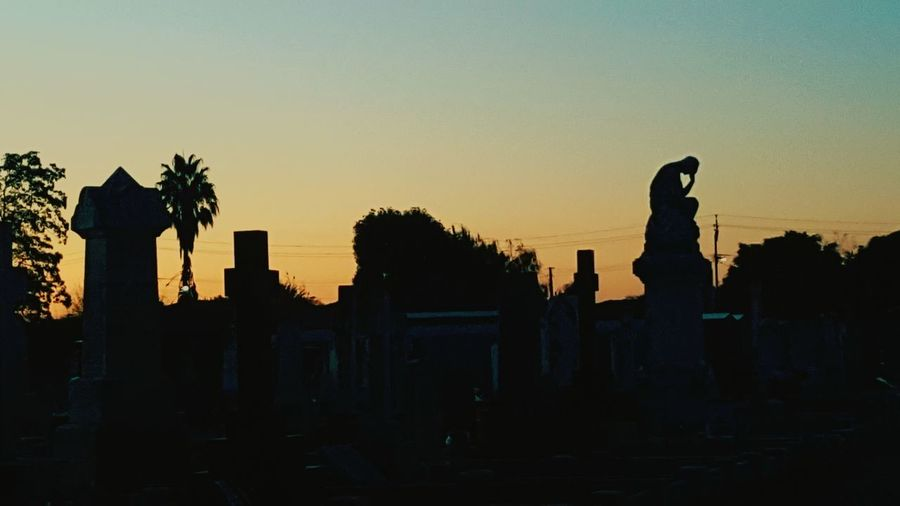 R.I.P Old Ruin Architecture Sculpture Outdoors No People Sunset Outdoors Photograpghy  EyeEmNewHere Night Sky Graveyard Artitechture Beauty