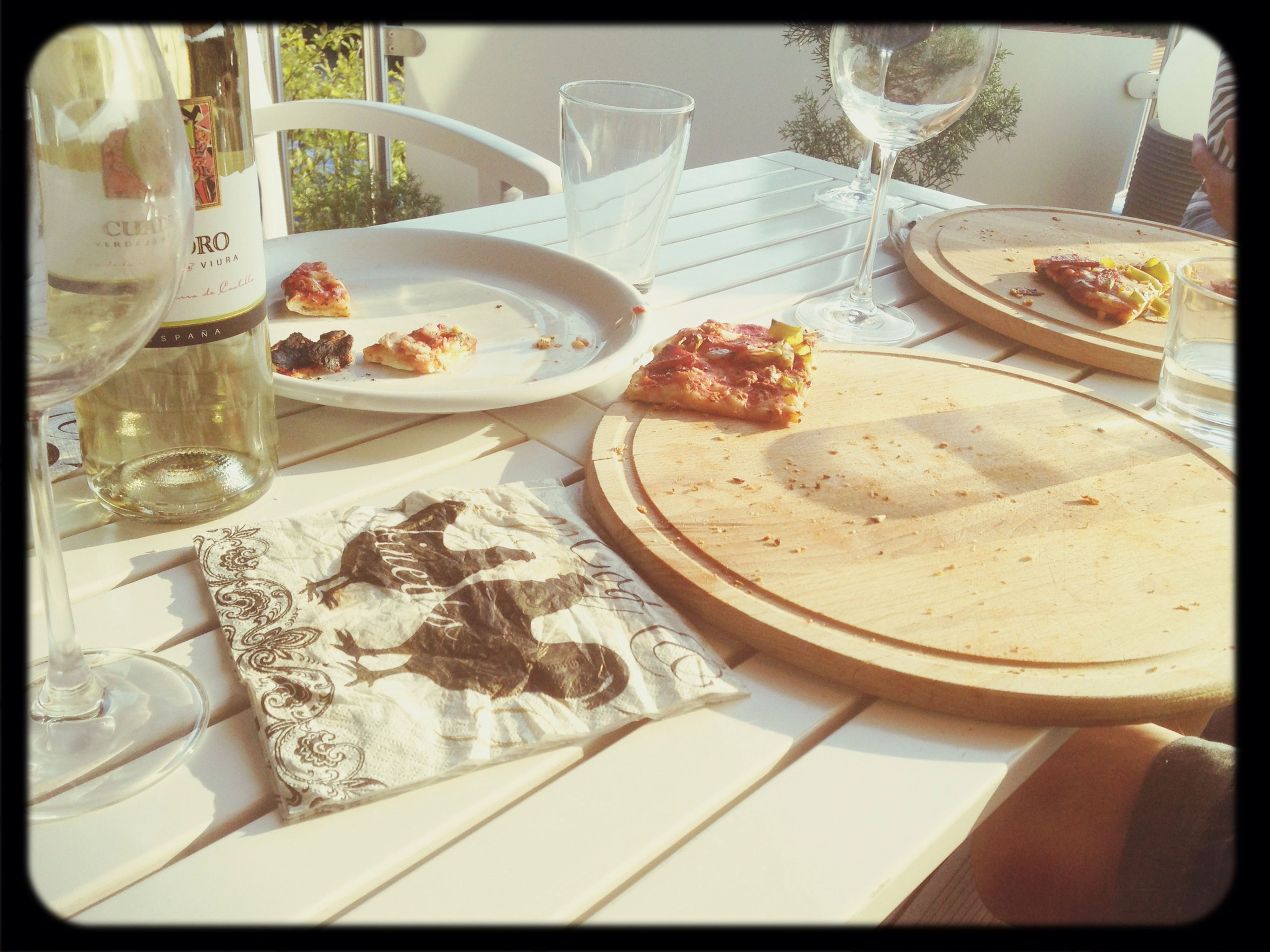 Jetzt Post Pizza Analyse Mittels Rotwein