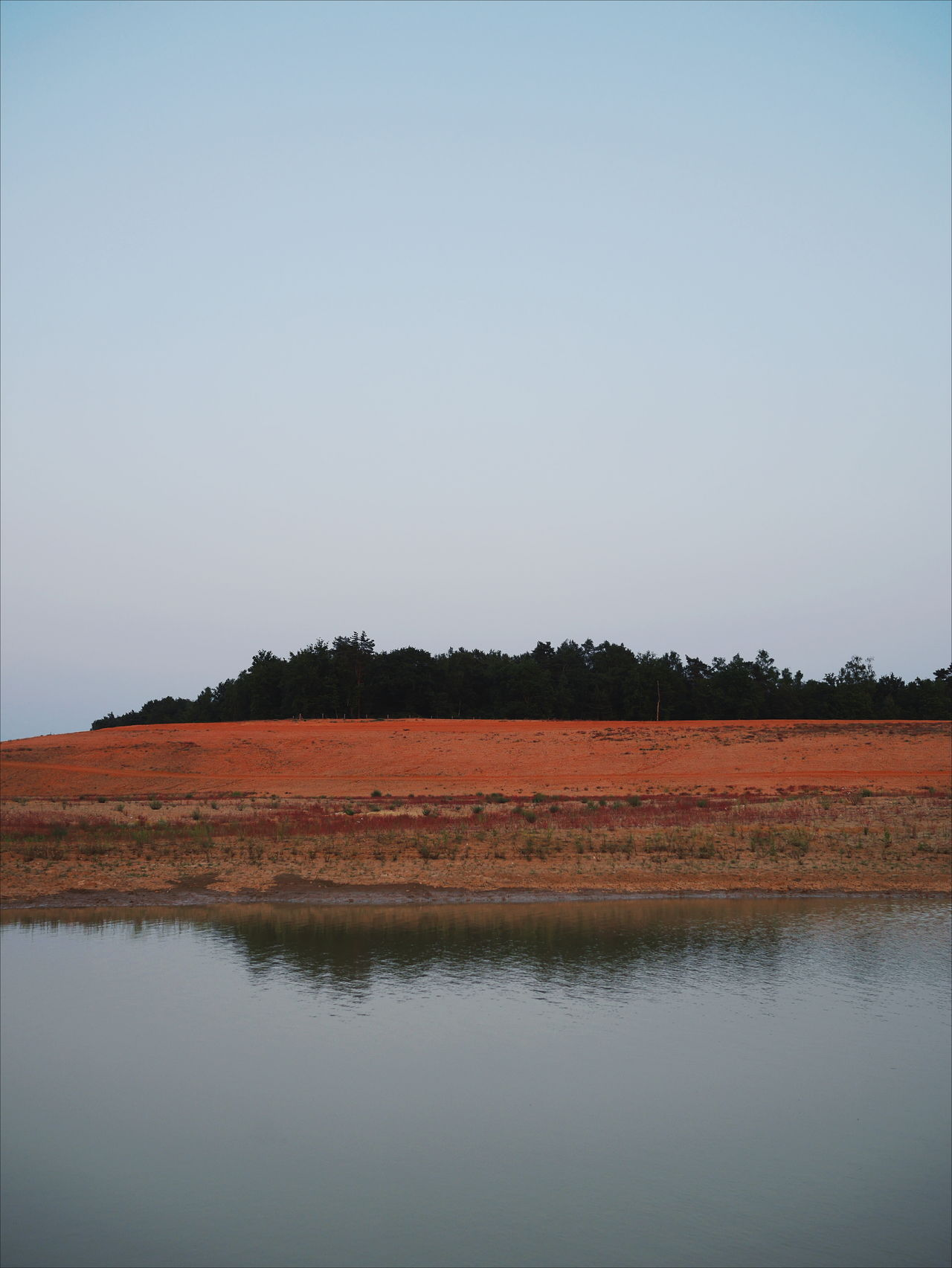 Reflection Landscape No People Nature Beauty In Nature Rural Scene Water Scenics Outdoors Sky Day